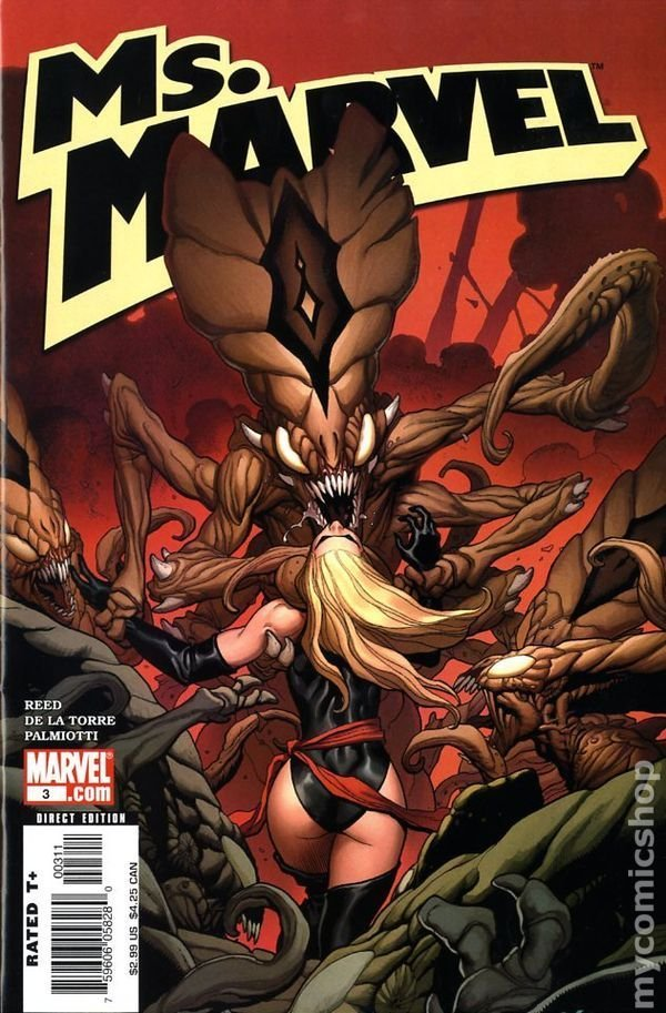MS MARVEL #3 CHO COVER 1ST PRINT