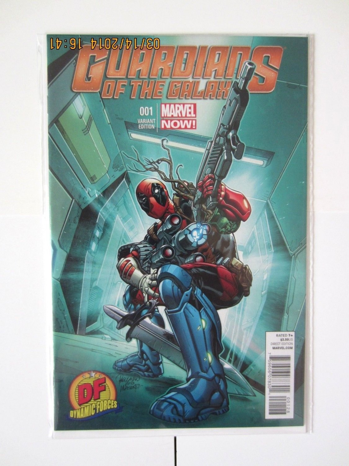 Guardians of the Galaxy #1K Deadpool Variant (May 2013, Marvel)