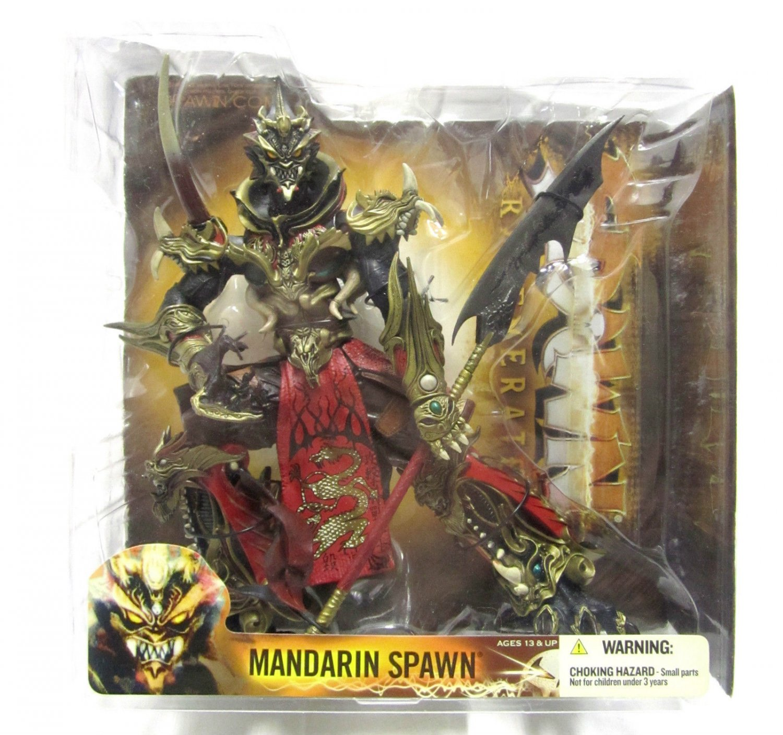 "McFarlane Series 28 ""Regenerated"" Mandarin Spawn 2 Action Figure"