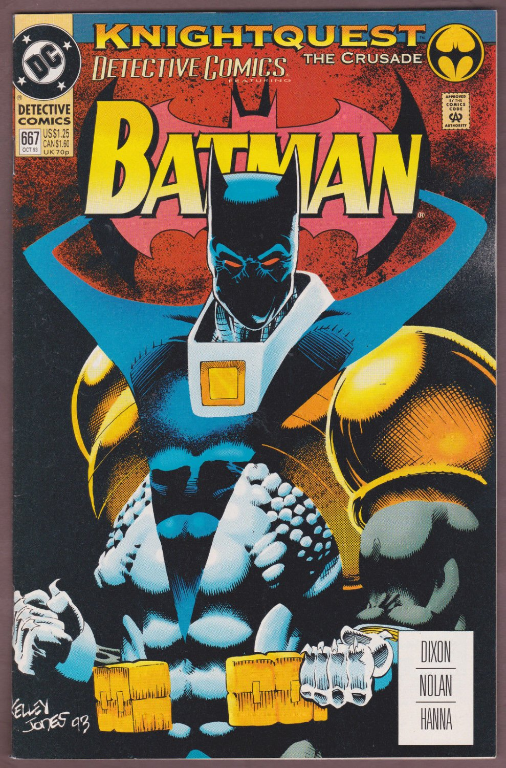 DETECTIVE COMICS #667 Vol. 1, Batman