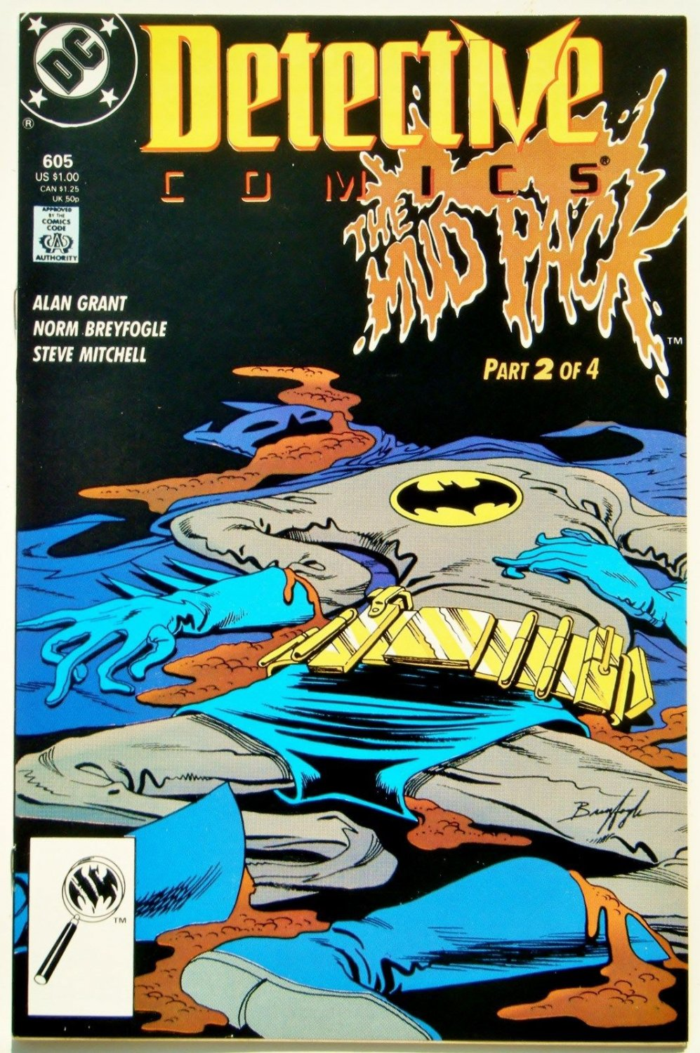 DETECTIVE COMICS #605 Vol. 1, BATMAN
