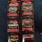 1999 COCA-COLA MATCHBOX COLLECTIBLES - THE ENDURING CHARACTERS EDITION -SET OF 6