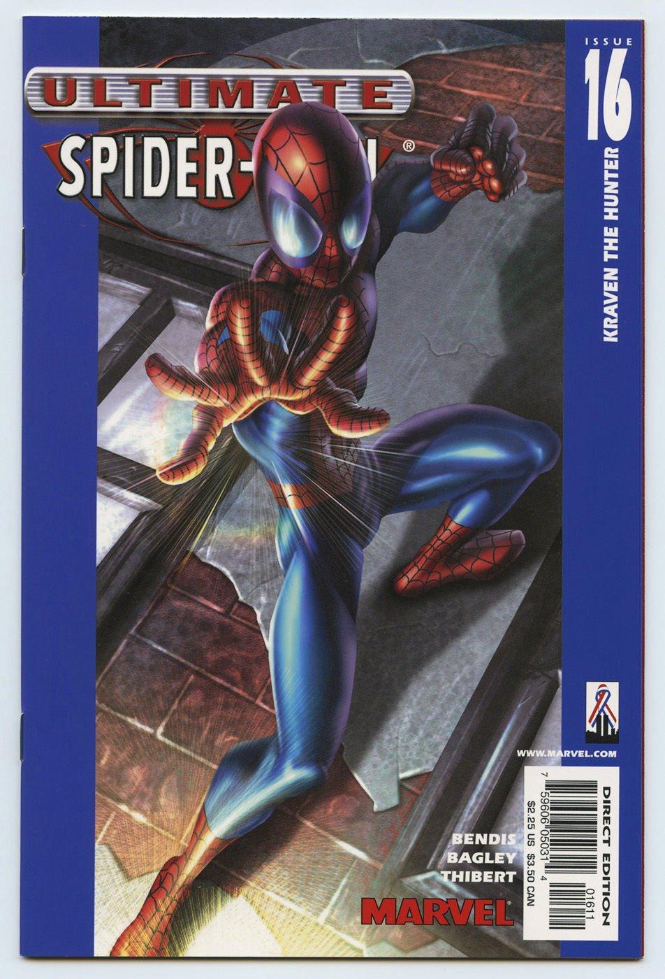 ULTIMATE SPIDER-MAN #16