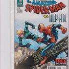 AMAZING SPIDER-MAN #694 (2012) ALPHA, DAN SLOTT, HUMBERTO RAMOS, 1st PRINT, NM