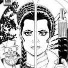Star Wars Princess Leia #1 Amanda Conner Limited Edition Sketch Variant NM BAM!