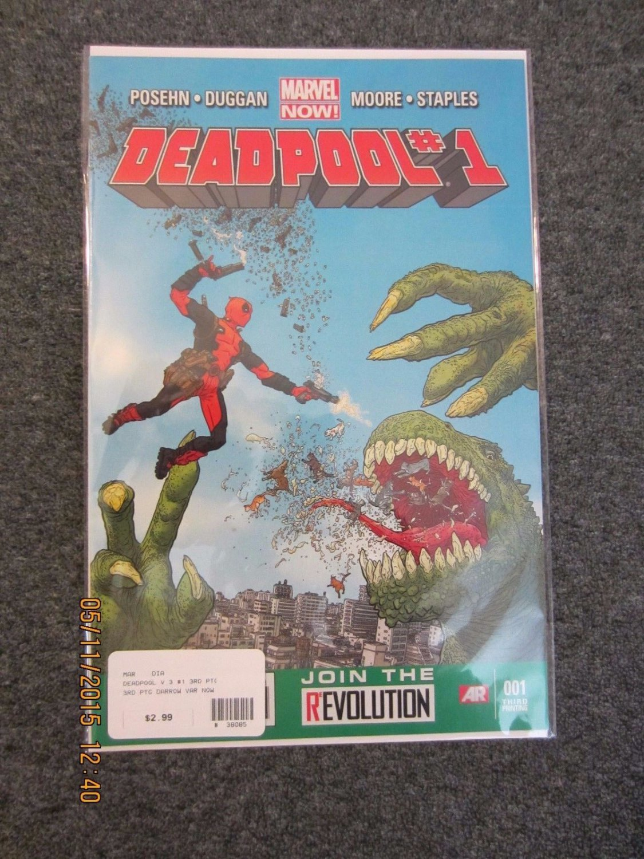 Deadpool #1 3RD PRINT 2012
