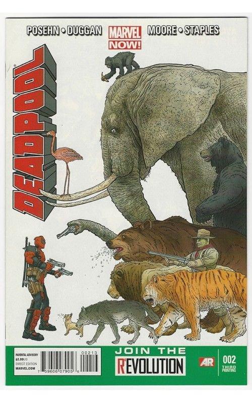 Deadpool #2 3RD PRINT 2012