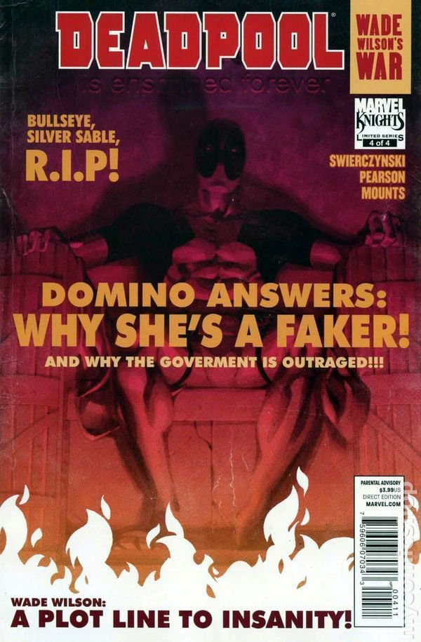 Deadpool WADE WILSON'S WAR #4