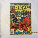 DEVIL DINOSAUR #4 1978