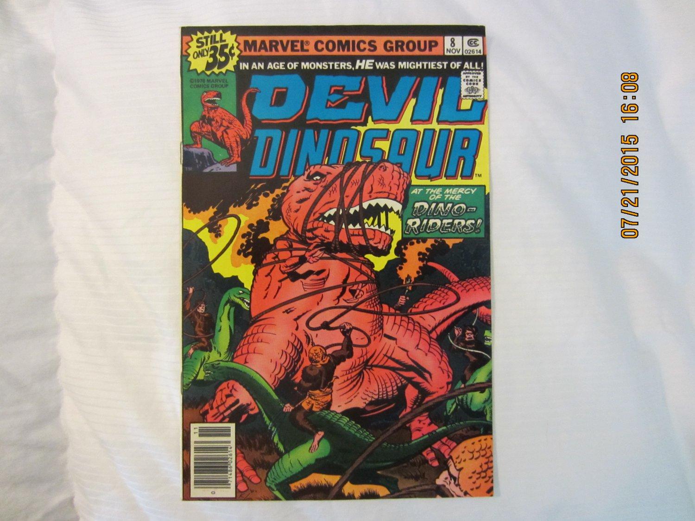 DEVIL DINOSAUR #8 1978