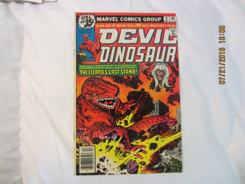 DEVIL DINOSAUR #9 1978