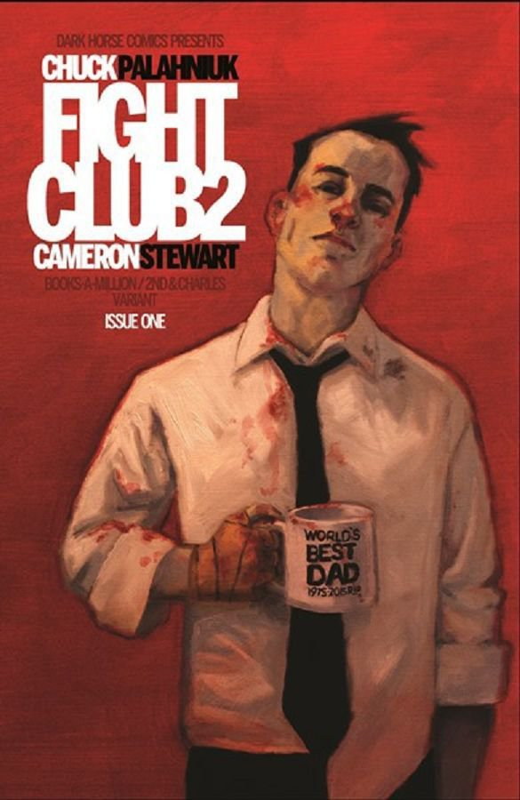 FIGHT CLUB #1 VOL 2 BAM EXCLUSIVE VARIANT POLYBAGGED