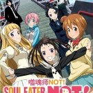 DVD ANIME SOUL EATER NOT Vol.1-12End Complete TV Series