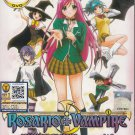 DVD ANIME ROSARIO VAMPIRE Complete TV Series Season 1+2