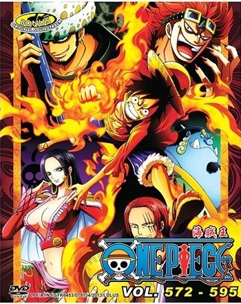 DVD ANIME ONE PIECE Vol.572-595 Box Set Wan Pisu Pirate King