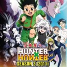 DVD ANIME HUNTER X HUNTER Season 2 (2011) Vol.49-100