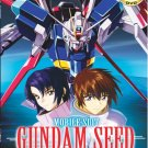 DVD ANIME MOBILE SUIT GUNDAM SEED Complete TV Series Vol.1-50End English Audio
