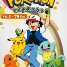 DVD ANIME POKEMON Indigo League Vol.1-79End Complete TV Series English Audio