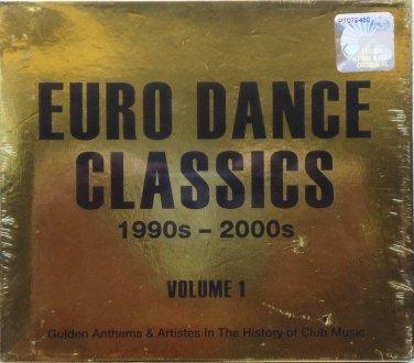 EURO DANCE CLASSICS 1990-2000 Club Music 2CD Golden Hit