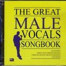MALE VOCAL SONGBOOK 2CD Simply Red Bertie Higgins Chris De Burgh 24Bit Mastering