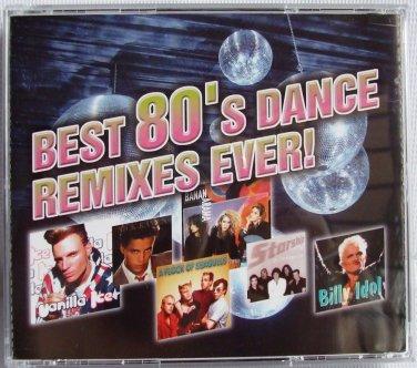 Best 80's Dance DJ Remix 3CD Global Deejays Cascada Lazard