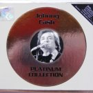JOHNNY CASH Platinum Collection Greatest Hits CD HDCD Lyric Booklet 2 Live Track