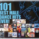 101 BEST MALE DANCE HITS EVER 5CD NEW Royal Gigolos Italobrothers Coolio Crew 7