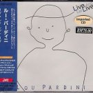 LOU PARDINI Live And Let Live OBi Japan Edition CD NEW RARE Out of Print