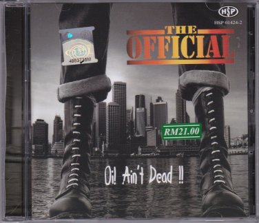 THE OFFICIAL Oi Ain't Dead Malaysia Oi Skinhead Music CD Lyrics Booklet NEW
