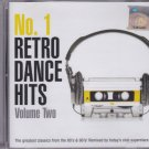 No.1 RETRO DANCE HITS 2CD Vol.2 80s 90s Classics Remixed Scooter Groove Coverage