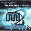 DJ MANIAN Hands Up Forever 3CD NEW Asia Deluxe Edition Remix Cascada Producer