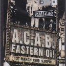 CASSETTE NEW A.C.A.B. Eastern Oi Skinhead Punk Rock Music ACAB