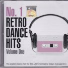 NO.1 RETRO DANCE HITS 2CD V.1 Topmodelz David May R.I.O. Salemme Gazebo Blunatix