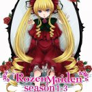 DVD ANIME ROZEN MAIDEN Season 1-3 Vol.1-37End Region All English Sub Free Ship