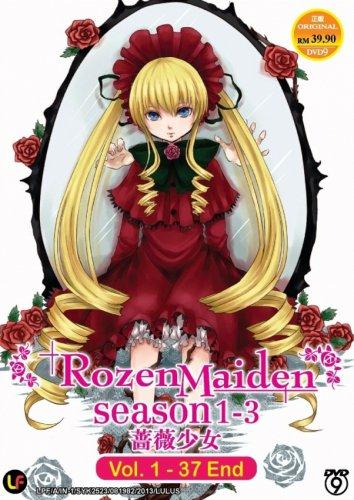 DVD ANIME ROZEN MAIDEN Season 1-3 Vol.1-37End Region All English Sub Free Ship