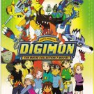 DVD ANIME DIGIMON Digital Monster The Movie Collection Box Set Region All