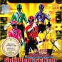 DVD Samurai Sentai Shinkenger Vol.1-49End Complete TV Series Region All