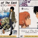 DVD ANIME EDEN OF THE EAST TV Vol.1-11End + 2 Movie King of Eden + Paradise Lost