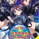DVD ANIME STRIKE WITCHES Season 1 + 2 Vol.1-24End + Movie Region All Free Ship