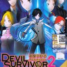 DVD ANIME DEVIL SURVIVOR 2 The Animation Vol.1-13End Region All English Sub