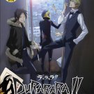 DVD ANIME DURARARA!! DRRR!! Complete TV 1-25End Special Region All English Audio