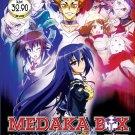 DVD ANIME MEDAKA BOX Complete Season 1+2 Vol.1-24End Region All Free Shipping