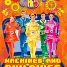 DVD Hi-5 Machines And Buildings 5 Episodes Australia Series Season 13 Region 0