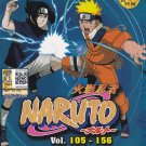 DVD ANIME NARUTO Season 3-4 Vol.105-156 Box Set 52 Episodes Region All Free Ship