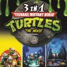 DVD ANIME TEENAGE MUTANT NINJA TURTLES The Movies 3 In 1 Trilogy English Audio