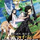DVD ANIME SWORD ART ONLINE Extra Edition English Sub Region All Free Shipping