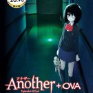 DVD JAPANESE ANIME ANOTHER Vol.1-12End + OVA English Sub Region All Free Ship