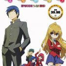 DVD JAPANESE ANIME TORADORA! Vol.1-25End Tiger x Dragon English Sub Region All