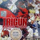 DVD JAPANESE ANIME TRIGUN Badlands Rumble The Movie English Sub Region All