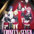 DVD JAPANESE ANIME TRINITY SEVEN Vol.1-13End English Sub Region All Free Ship